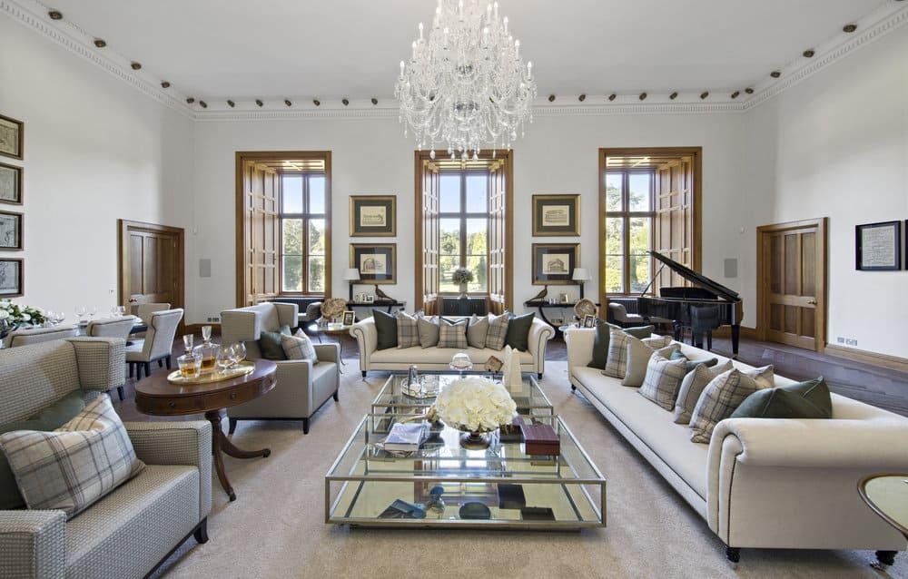 stunning elegant living room georgian   เลือกประเภทโซฟาให้เหมาะกับห้องนั่งเล่น ต้อนรับแขกในวัน ...